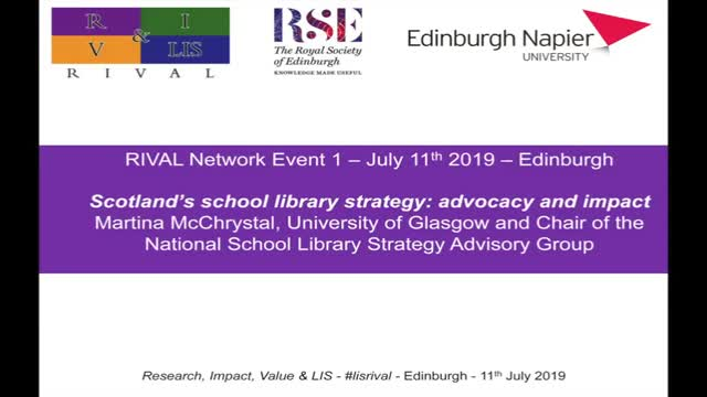 05 Martina McChrystal - Scotland's school library strategy