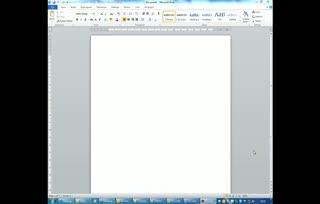 Creating diagrams in Microsoft Word 2010
