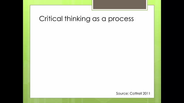 dissertation maze -unit 3 critical thinking