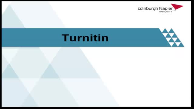 Introduction to Turnitin- Students