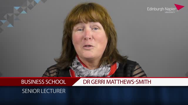 Dr Gerri Matthews-Smith: philosophy isn't a big word