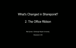 2. The office Ribbon
