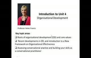 POD Unit 5 CAM 1 Introduction