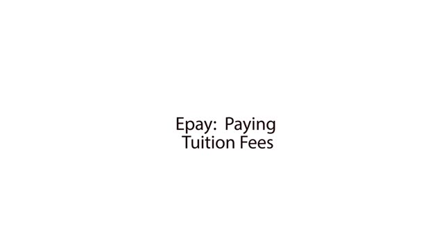 Epayment Tuition Fees Guide