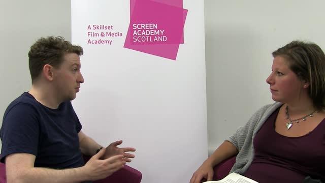 Chris Lindsay (Screen Academy Scotland alumini)