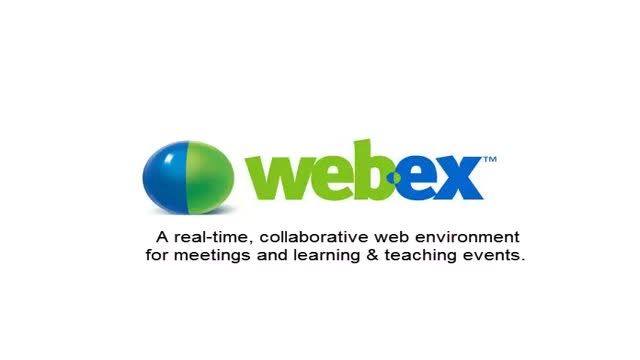 Quick view of Webex