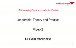 POD: Unit 4 Leadership Video 2