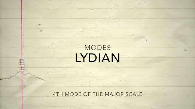 Major Modes_Lydian