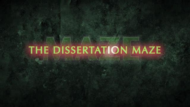 dissertation maze HD