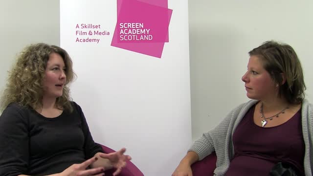 Lili Sandelin (Screen Academy Scoltnad alumina)
