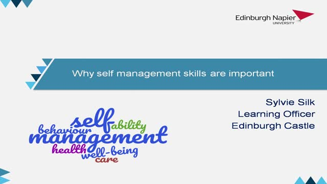 Why self management skills are so important