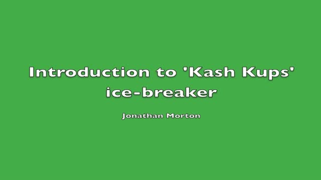 03 Jonathan Rankin - Introduction to ice-breaker
