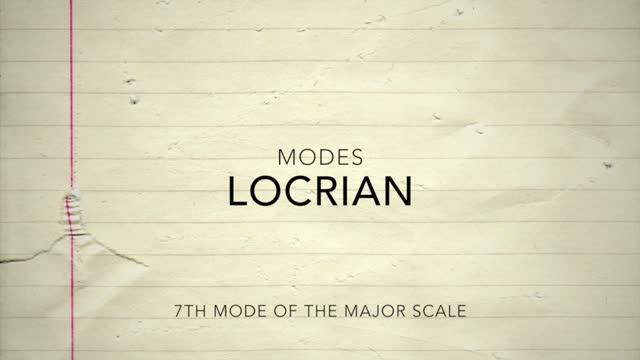 Major Modes_Locrian