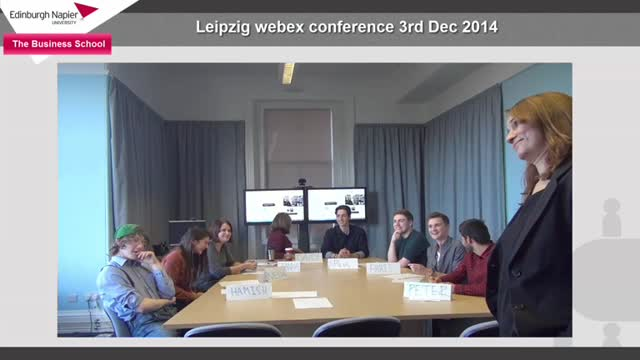 Leipzig webex conference 3rd December 2014